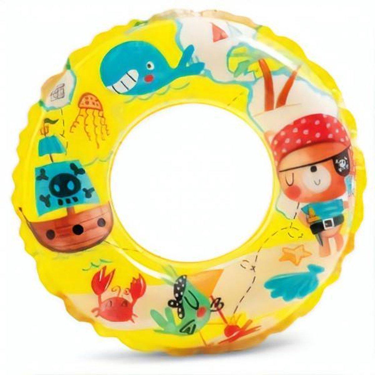 Intex Zwemband Piraat Junior 61 Cm Vinyl Geel