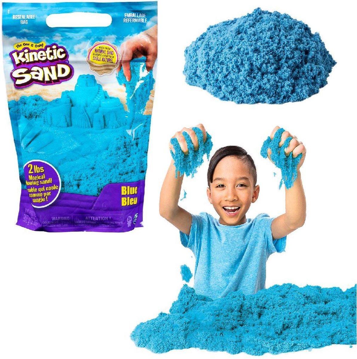 Kinetic Sand Colour Bag Blue 907gr