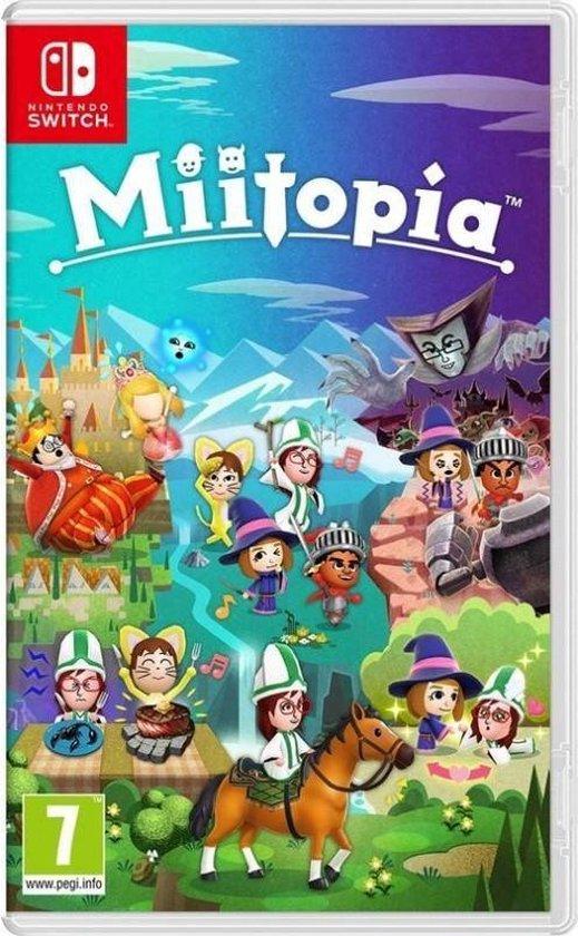 Cover van de game Miitopia - Switch