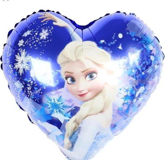 Folieballon Frozen hart, 18inch kindercrea