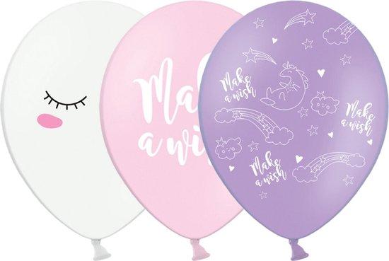 Unicorn Ballonnen 30cm 6st