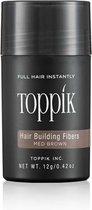 5. Haargroei vezels Toppik Hair Building Fibers Regular - 12 gram - Middenbruin