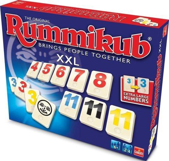 Rummikub The Original XXL - Gezelschapsspel