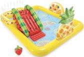 Intex Opblaasbaar Kinderzwembad - Met Glijbaan - Fruit - 244 x 191 x 91 cm