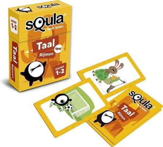 Thumbnail van een extra afbeelding van het spel sQula Taal Rijmen