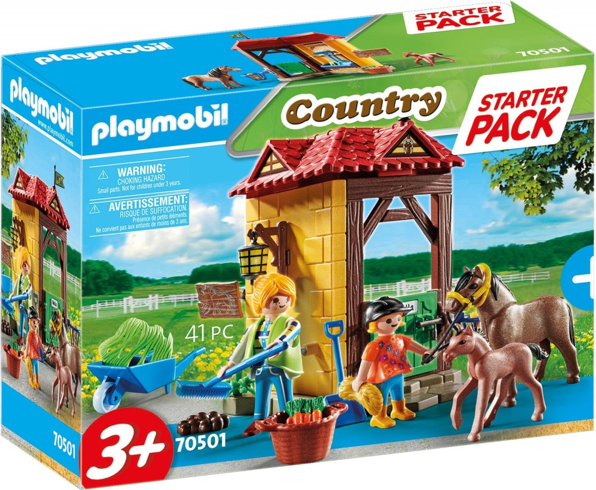 PLAYMOBIL Country Starterpack manege - 70501