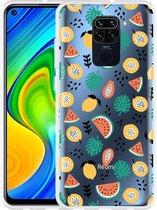 Xiaomi Redmi Note 9 Hoesje Tropical Fruit