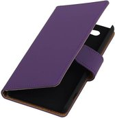 Bookstyle Hoes voor Sony Xperia Z4 Compact Paars