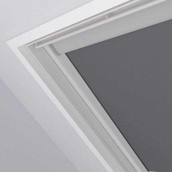 Dakraam Rolgordijn Trend Verduisterend Light Grey voor Velux: M04 / 1 / 304