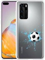 Huawei P40 Hoesje Soccer Ball