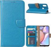 Samsung Galaxy A20S - Bookcase Turquoise - portemonee hoesje