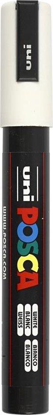 Posca Marker 2,5 Mm Pc-5m Wit Medium
