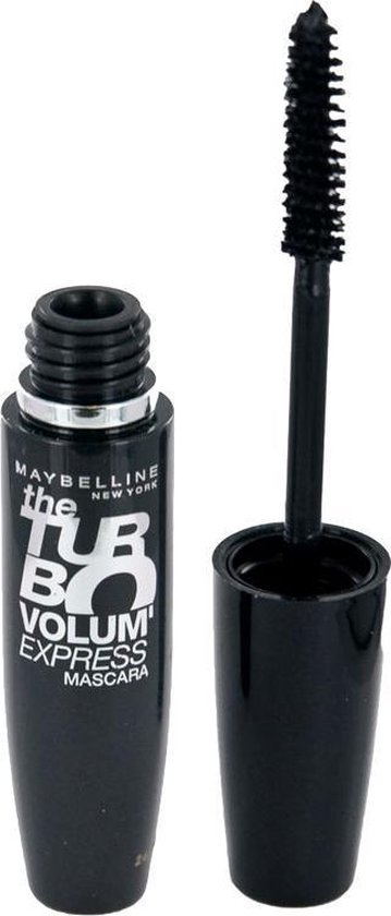Maybelline Volum'Express Turbo-Boost - Zwart - Mascara - Maybelline