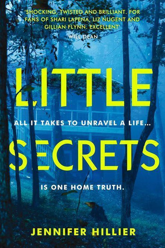 Boek cover Little Secrets van Jennifer Hillier (Onbekend)