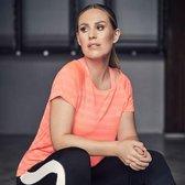 Dare 2b - Kate Ferdinand Defy Quick Drying T-Shirt - Outdoorshirt - Vrouwen - Maat 34 - Oranje