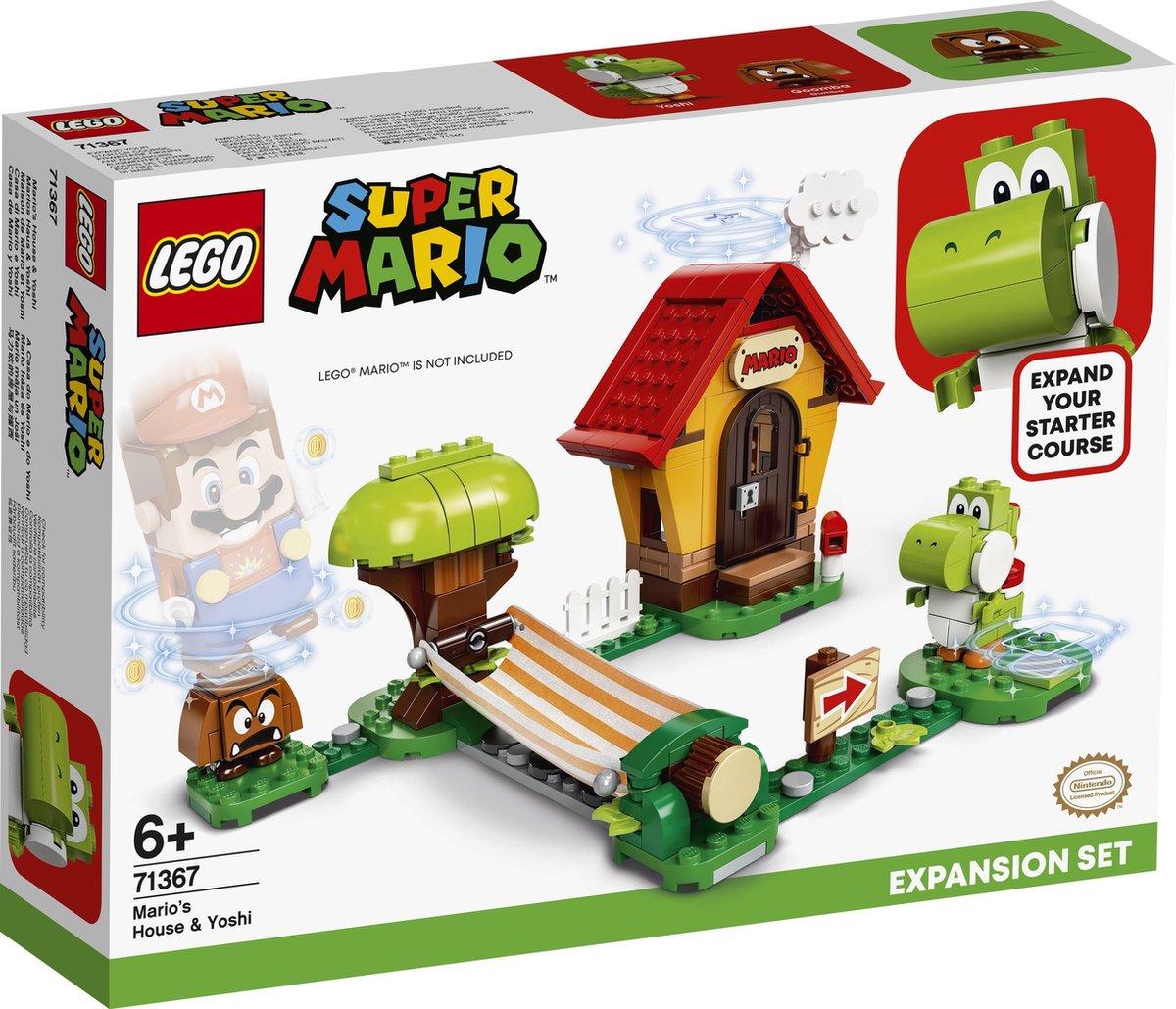 Mario's huis en Yoshi