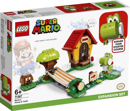 Afbeelding van LEGO Super Mario Uitbreidingsset Marios Huis & Yoshi - 71367 speelgoed