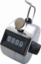 Handteller Metaal 0-9999