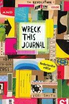 Omslag Wreck this journal, nu in kleur!