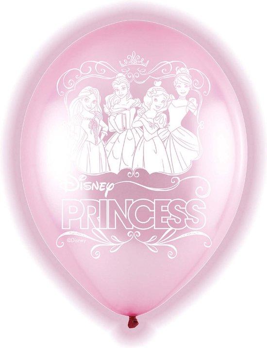 5 latex Disney Princess™ ballonnen - Feestdecoratievoorwerp