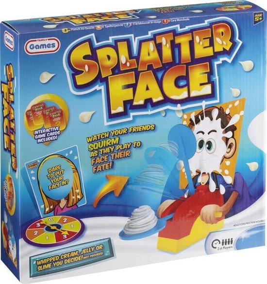 Afbeelding van het spel Splatter face - slagroom spel | actiespel