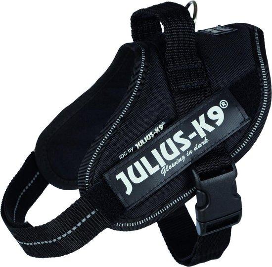 Julius K9 Power-Harnas/Tuig - Mini/51-67 cm - Zwart