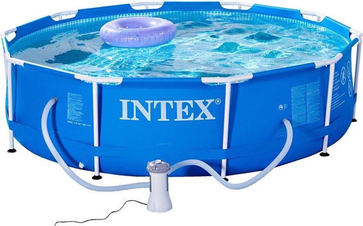 Intex 28202GN frame zwembad 305x76cm met pomp