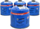 Gasblik | Gasbus | Camping Gasvulling | Met schroefventiel| Butaan Gas | 500g