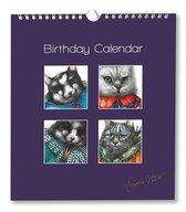 Verjaardagskalender - Kalender - Kunst - Poezen - Eugène Peters