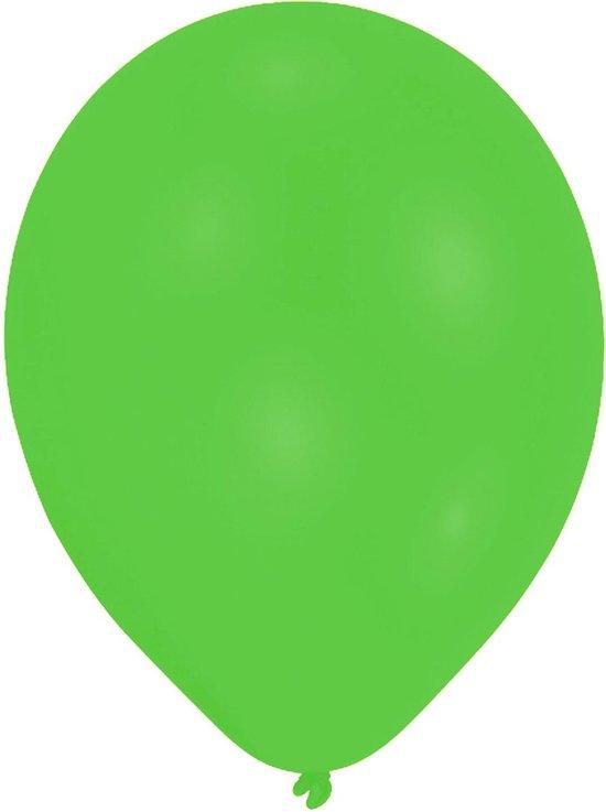 Amscan Ballonnen 27 Cm Latex Neon Groen 50 Stuks
