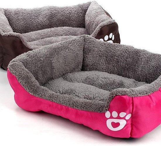 hondenmand - hondenkussen - hondenbed - kleine honden - Rood - Kattenmand
