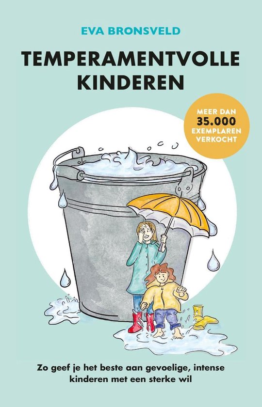 Boek cover Temperamentvolle kinderen van Eva Bronsveld (Onbekend)