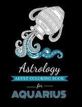 Astrology Adult Coloring Book for Aquarius