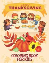 Happy Thanksgiving Coloring Books For Kids