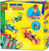 SES Rubber band racers - Hobbypakket - Knutselen voor kinderen