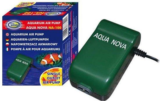 Aqua Nova - Beluchting - Luchtpomp aquarium - 130 L/H