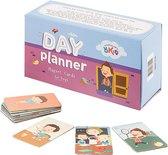 OKID Dagplanner – 100 Magnetische Kaarten Jongen - Pictogrammen voor Planbord met Activiteiten en taken – Zindelijkheidstraining – Beloningssysteem – Montessori Speelgoed - Zindelijkheid - Potjestraining Jongens en Meisje – Dagritme - Planner – Kind