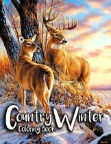 Country Winter Coloring Book