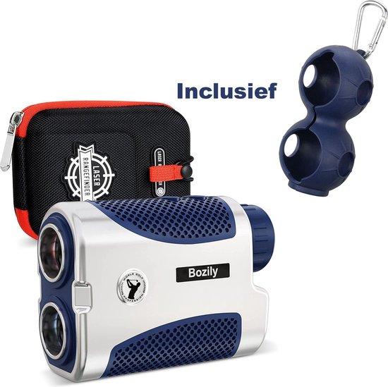 Rangefinder voor Golf en Jacht,1500 Y/M Laser Rangefinder, 6X vergroting, AAN/UIT-helling, Flag-Lock met antivibratie ondersteuning, continue scan, met batterij, voor golfers die net iets meer willen.
