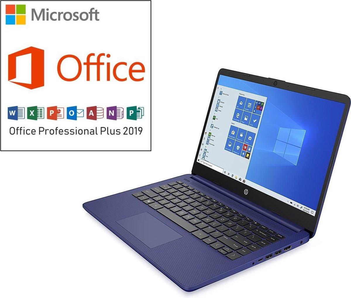 HP 14 inch Laptop - Tijdelijke actie: €549,99 >> €499,99 & incl. Office Professional! (verloopt niet, geen abonnement)