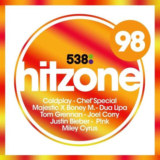 CD cover van 538 Hitzone 98 van Hitzone
