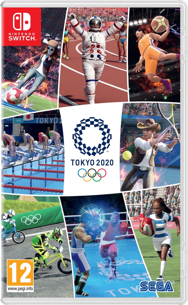 Tokyo 2020 – Official Video Game – Nintendo Switch