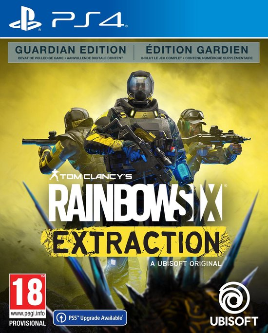 Rainbow Six Extraction - Guardian Edition - PS4