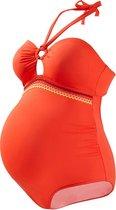 Zwangerschapsbadpak Africa Oranje