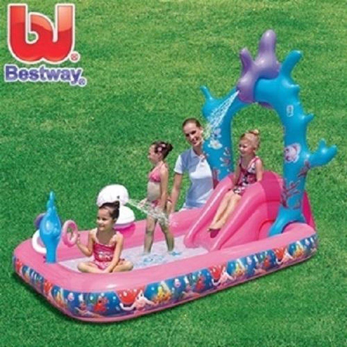 Bestway Disney Princess opblaasbaar speelzwembad