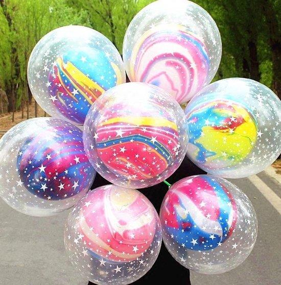 Latex Galaxy ballonnen, 5 stuks Kindercrea