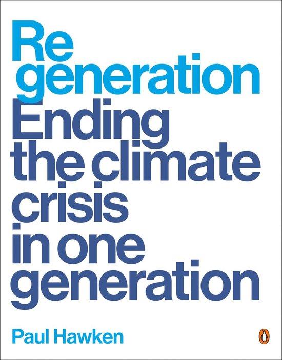 Boek cover Regeneration van Paul Hawken (Paperback)