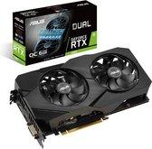 ASUS DUAL-RTX2060-O6G-EVO - OC Edition - grafische kaart - GF RTX 2060 - 6 GB GDDR6 - PCIe 3.0 x16 - DVI, 2 x HDMI, DisplayPort