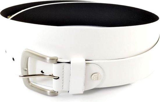XXL Belts heren- & damesriem Jeans 1330 – Wit – 165 cm