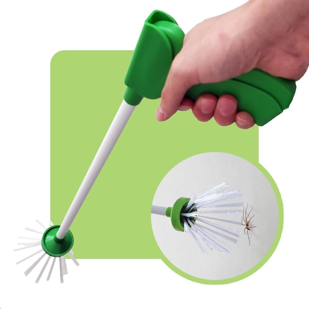 Dé oplossing voor iedereen die bang is voor spinnen!